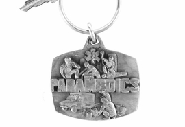 "<Br>                 LEAD & NICKEL FREE!!<Br>W16720KC - PEWTER ""PARAMEDICS""<Br>                     KEY CHAIN $2.99"