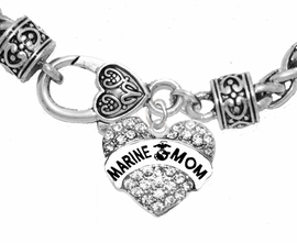 "<BR>       ""MARINE MOM""  EXCLUSIVELY OURS!!   <Br>               AN ALLAN ROBIN DESIGN!!   <BR>        NICKEL, LEAD & CADMIUM FREE!!   <BR>W1810B1- FROM $5.98 TO $12.85 �2015"