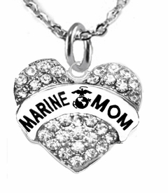 "<BR>       ""MARINE MOM""  EXCLUSIVELY OURS!!   <Br>               AN ALLAN ROBIN DESIGN!!   <BR>        NICKEL, LEAD & CADMIUM FREE!!   <BR>W1810N1- FROM $5.98 TO $12.85 �2015"