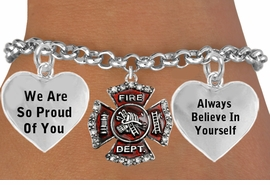 "<BR>                  GENUINE "" CRYSTAL FIREFIGHTER MALTESE CROSS "" CHARM<BR>                                 ADJUSTABLE CHARM BRACELET WHOLESALE <bR>                    W21498B - THE NEW WAY TO EXPRESS LOVE, MOTIVATION,<BR>             POSITIVE, AFFIRMATIVE EXPRESSIONS, THAT WILL GO PERFECTLY<br>           WITH ANOTHER POSITIVE AFFIRMATION CHARM IF YOU WANT  ONE,<BR>      MORE CHOICES LOOK BELOW,  CHARM BRACELET FROM $9.73 TO $14.58<BR>                                       CostumeJewelryWholesale.com �2014"