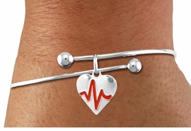 "<BR>                                  NICKEL FREE & ADJUSTABLE NECKLACE ! <BR>                                                         ""THE PERFECT GIFT"",<BR>                               ""Your Love Makes My Heart Beat"","" I Love You"", Or<BR>                      In Recognition Of ""Women's Or Children's Heart Disease""<BR>                           "" HEARTBEAT "" ADJUSTABLE FASHION BRACELET<BR>                                AN ORIGINAL ALLAN ROBIN CUSTOM DESIGN<br>                                             WHOLESALE CHARM BRACELET <BR>                                           LEAD, CADMIUM & NICKEL FREE!!  <BR>                                          W21566B-ADJUSTABLE FASHION  <BR>                             BRACELET FROM $4.90 TO $5.85 EACH! ©2015"