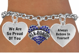 "<BR>                                 ""I AM AN AMERICAN AIRMAN, I AM A WARRIOR "" <BR>                            ADJUSTABLE HEART CHARM BRACELET WHOLESALE <bR>                    W21511B - THE NEW WAY TO EXPRESS LOVE, MOTIVATION,<BR>             POSITIVE, AFFIRMATIVE EXPRESSIONS, THAT WILL GO PERFECTLY<br>           WITH ANOTHER POSITIVE AFFIRMATION CHARM IF YOU WANT  ONE,<BR>      MORE CHOICES LOOK BELOW,  CHARM BRACELET FROM $9.73 TO $14.58<BR>                                       CostumeJewelryWholesale.com �2014"