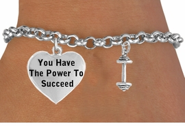 <BR>                                  BARBELL-WEIGHTS FULL  DIMENSIONAL<BR>                            FRONT &  BACK  CHARM BRACELET WHOLESALE <bR>                 W21466B - THE NEW WAY TO EXPRESS LOVE, MOTIVATION,<BR>          POSITIVE, AFFIRMATIVE EXPRESSIONS, THAT WILL GO PERFECTLY<br>        WITH ANOTHER POSITIVE AFFIRMATION CHARM IF YOU WANT  ONE,<BR>   MORE CHOICES LOOK BELOW,  CHARM BRACELET FROM $9.73 TO $14.58<BR>                                    CostumeJewelryWholesale.com �2014