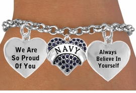 "<BR>           "" U.S. NAVY, READY GUARDIANS OF PEACE, VICTORIOUS IN WAR "" <BR>                                 ADJUSTABLE CHARM BRACELET WHOLESALE <bR>                    W21502B - THE NEW WAY TO EXPRESS LOVE, MOTIVATION,<BR>             POSITIVE, AFFIRMATIVE EXPRESSIONS, THAT WILL GO PERFECTLY<br>           WITH ANOTHER POSITIVE AFFIRMATION CHARM IF YOU WANT  ONE,<BR>      MORE CHOICES LOOK BELOW,  CHARM BRACELET FROM $9.73 TO $14.58<BR>                                       CostumeJewelryWholesale.com �2014"