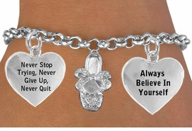 <BR>          BEAUTIFUL CRYSTAL BALLET SHOE CHARM BRACELET WHOLESALE <bR>                 W21429B - THE NEW WAY TO EXPRESS LOVE, MOTIVATION,<BR>          POSITIVE, AFFIRMATIVE EXPRESSIONS, THAT WILL GO PERFECTLY<br>        WITH ANOTHER POSITIVE AFFIRMATION CHARM IF YOU WANT  ONE,<BR>   MORE CHOICES LOOK BELOW,  CHARM BRACELET FROM $9.73 TO $14.58<BR>                                    CostumeJewelryWholesale.com �2014