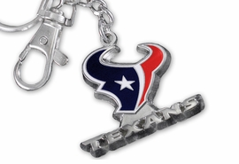 <br>          OFFICIALLY  LICENSED!! <br>  NATIONAL FOOTBALL LEAGUE!! <Br>W19952KC - HOUSTON TEXANS <Br> 3D KEY CHAIN WITH BELT CLIP <BR>      FROM $5.85 TO $13.00