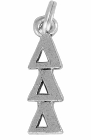 <Br>OFFICIALLY LICENSED SORORITY CHARM!!<Br>                     LEAD & NICKEL FREE!!<Br>                 W851SC - DELTA DELTA DELTA <Br>               CHARM FROM $4.10 TO $6.75