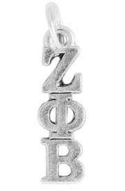 <Br>OFFICIALLY LICENSED SORORITY CHARM!!<Br>                     LEAD & NICKEL FREE!!<Br>             W899SC - ZETA PHI BETA <Br>              CHARM FROM $4.10 TO $6.75