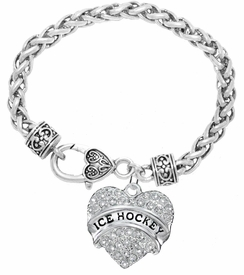 "<BR>                       THE ""PERFECT GIFT""<BR>""ICE HOCKEY""  BRACELET EXCLUSIVELY OURS!!   <Br>               AN ALLAN ROBIN DESIGN!!   <br>                         HYPOALLERGENIC<BR>        NICKEL, LEAD & CADMIUM FREE!   <BR>W1780B1- FROM $5.98 TO $12.85 �2015"
