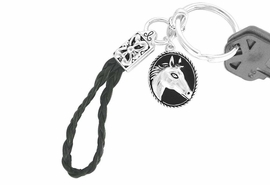 <bR> W10708KC - HORSE CAMEO<Br>KEY CHAIN AS LOW AS $1.99