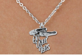 "<bR>       WHOLESALE DANCE & BALLET JEWELRY! <BR>                 AN ALLAN ROBIN DESIGN!! <BR>        CLICK HERE TO SEE 1500+ EXCITING <BR>              CHANGES THAT YOU CAN MAKE! <BR>             LEAD, NICKEL & CADMIUM FREE <BR  >W1413SN8 - ""ON YOUR TOES"" BALLET SHOES  <Br>SILVER TONE CHARM ON CHILD LOBSTER CLASP  <BR>CHAIN NECKLACE FROM $4.50 TO $8.35 �2015"
