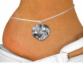 <bR>    WHOLESALE ANIMAL FASHION JEWELRY <BR>                   EXCLUSIVELY OURS!! <BR>              AN ALLAN ROBIN DESIGN!! <BR>        LEAD, NICKEL & CADMIUM FREE!! <BR>  W1512SAK - DETAILED SILVER TONE AND <BR> CLEAR CRYSTAL HORSE AND FOAL CHARM <Br>     ANKLET FROM $4.35 TO $9.00 �2013