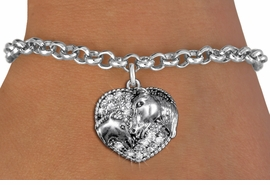 <BR>   WHOLESALE FASHION ANIMAL JEWELRY <bR>                 EXCLUSIVELY OURS!! <Br>            AN ALLAN ROBIN DESIGN!! <BR>   CLICK HERE TO SEE 1000+ EXCITING <BR>         CHANGES THAT YOU CAN MAKE! <BR>      LEAD, NICKEL & CADMIUM FREE!! <BR> W1512SB - ANTIQUED SILVER TONE AND <BR> CLEAR CRYSTAL HORSE AND FOAL CHARM <BR> BRACELET FROM $5.40 TO $9.85 �2013