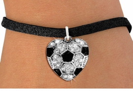 <BR>    WHOLESALE SPORTS FASHION JEWELRY <bR>                  EXCLUSIVELY OURS!! <Br>             AN ALLAN ROBIN DESIGN!! <BR>    CLICK HERE TO SEE 1000+ EXCITING <BR>          CHANGES THAT YOU CAN MAKE! <BR>       LEAD, NICKEL & CADMIUM FREE!! <BR>    W1518SB - SILVER TONE AND CLEAR <BR>   CRYSTAL SOCCER HEART CHARM AND <BR>  BRACELET FROM $5.50 TO $9.35 �2013