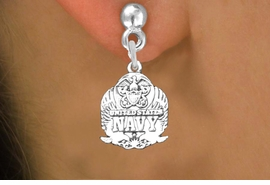 <br>WHOLESALE ARMED FORCES CHARM EARRINGS <bR>                 EXCLUSIVELY OURS!! <BR>            AN ALLAN ROBIN DESIGN!! <BR>      CADMIUM, LEAD & NICKEL FREE!! <BR>W1577SE - DETAILED SILVER TONE <Br>U.S. NAVY INSIGNIA CHARM EARRINGS <BR>          FROM $3.65 TO $8.40 �2014