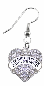<BR>    WHOLESALE FIREFIGHTER'S GIRLFRIEND FASHION EARRING  <bR>                      EXCLUSIVELY OURS!!  <Br>                 AN ALLAN ROBIN DESIGN!!  <BR>           NICKEL,  LEAD, & CADMIUM FREE!!  <BR>      W1728E1 - ANTIQUED SILVER TONE AND  <BR>CLEAR CRYSTAL FIREFIGHTER'S GIRLFRIEND CHARM  <BR>     ON SURGICAL STEEL FISHHOOK EARRINGS <BR>              FROM $5.40 TO $10.45 �2015