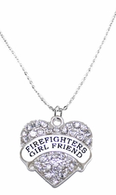 <BR>   WHOLESALE FASHION FIREFIGHTER'S GIRLFRIEND JEWELRY  <bR>                              EXCLUSIVELY OURS!!  <Br>                         AN ALLAN ROBIN DESIGN!!  <BR>                    NICKEL, LEAD, & CADMIUM FREE!!  <BR>              W1673SN1- BEAUTIFUL SILVER TONE AND  <BR>                       CLEAR CRYSTAL FIREFIGHTER's GIRLFRIEND<BR> CHARM ON LOBSTER CLASP CHAIN NECKLACE  <BR>                       FROM $5.40 TO $9.85 �2015