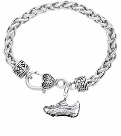 <BR>           WHOLESALE FASHION SPORTS JEWELRY    <BR>                         EXCLUSIVELY OURS!!         <Br>                    AN ALLAN ROBIN DESIGN!!        <BR>                             HYPOALLERGENIC      <BR>               NICKEL, LEAD & CADMIUM FREE!         <BR> W1805B1 - 3D SPORTS CLEAT SNEAKER CHARM ON      <BR>   BRACELET WITH HEART SHAPED LOBSTER CLASP  <BR>                 FROM $6.23 TO $11.75 �2016