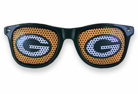 "<BR>OFFICIALLY LICENSED NFL TEAM SHADES!! <BR> W20816SG - THE GREEN BAY PACKERS <Br> ""G"" LOGO FOREST GREEN SUNGLASSES <br>      YOURS FOR $7.35 EACH �2013"