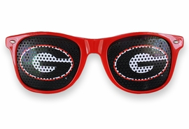 "<BR>OFFICIALLY LICENSED COLLEGIATE ITEM!! <BR>W20824SG - THE UNIVERSITY OF GEORGIA <Br> ""G"" LOGO RED SUNGLASSES <br>      YOURS FOR $7.35 EACH �2013"