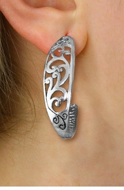 <br> WHOLESALE FASHION CLIP ON EARRINGS <Br>LEAD,  NICKEL & CADMIUM FREE!!<Br> W20857E - DETAILED ANTIQUED<Br> SILVER TONE CLIP-ON EARRINGS <br>   FROM $2.81 TO $6.25 �2013
