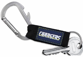 <bR> WHOLESALE NFL FOOTBALL TEAM KEYCHAIN <BR>     OFFICIAL FOOTBALL LICENSED!! <br>             LEAD & NICKEL FREE!!! <br>W20878KC - OFFICIAL SAN DIEGO CHARGERS <BR>  CARABINER WITH BOTTLE OPENER AND <BR>      KEY CHAINYOURS FOR $1.43 To $1.68 EACH �2013