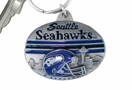 <br> WHOLESALE NFL PEWTER KEYCHAINS <bR>          LEAD & NICKEL FREE!!!<br>       OFFICIAL NFL LICENSED!!<br>NATIONAL FOOTBALL LEAGUE!!<Br>W20908KC - SEATTLE SEAHAWKS <BR>   KEY CHAIN FROM $2.99