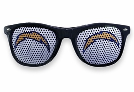 <BR>OFFICIALLY LICENSED NFL TEAM SHADES!! <BR>W20918SG - THE SAN DIEGO CHARGERS <Br> OFFICIAL LOGO NAVY SUNGLASSES <br>YOURS FOR $1.43 To $1.68 EACH �2013