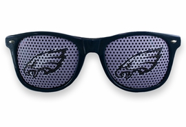 <BR>OFFICIALLY LICENSED NFL TEAM SHADES!! <BR>W20920SG - THE PHILADELPHIA EAGLES <Br> OFFICIAL LOGO GREEN SUNGLASSES <br>YOURS FOR $2.50 To $2.88 EACH �2013