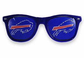 <BR>OFFICIALLY LICENSED NFL TEAM SHADES!! <BR>W21164SG - THE BUFFALO BILLS <Br> LOGO BLUE SUNGLASSES <br>      YOURS FOR $7.35 EACH �2013