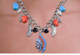 <br> WHOLESALE FASHION WESTERN JEWELRY <bR>     100% LEAD AND NICKEL FREE!!! <BR>W21223NE - STYLISH AND DETAILED SILVER <BR> TONE, TURQUOISE AND CORAL STONE WITH SILVER <BR> TONE NATIVE AMERICAN NECKLACE AND <BR> EARRING SET FROM $12.40 TO $27.50 �2014