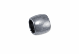 <br> WHOLESALE COSTUME JEWELRY PARTS <br> CADMIUM, LEAD AND NICKEL FREE!  <BR> W21226JP - BRIGHT SILVER TONE CHARM <BR> SPACERS FOR JUST $.43 EACH