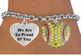 <BR>                                   SOFTBALL CHARM BRACELET WHOLESALE <bR>                 W21394B - THE NEW WAY TO EXPRESS LOVE, MOTIVATION,<BR>          POSITIVE, AFFIRMATIVE EXPRESSIONS, THAT WILL GO PERFECTLY<br>        WITH ANOTHER POSITIVE AFFIRMATION CHARM IF YOU WANT  ONE,<BR>   MORE CHOICES LOOK BELOW,  CHARM BRACELET FROM $9.42 TO $12.87<BR>                                    CostumeJewelryWholesale.com �2014