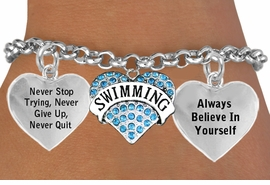 <BR>                      BEAUTIFUL SWIMMING HEART CHARM BRACELET WHOLESALE <bR>                 W21456B - THE NEW WAY TO EXPRESS LOVE, MOTIVATION,<BR>          POSITIVE, AFFIRMATIVE EXPRESSIONS, THAT WILL GO PERFECTLY<br>        WITH ANOTHER POSITIVE AFFIRMATION CHARM IF YOU WANT  ONE,<BR>   MORE CHOICES LOOK BELOW,  CHARM BRACELET FROM $9.73 TO $14.58<BR>                                    CostumeJewelryWholesale.com �2014