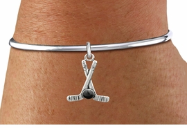 <BR>         NICKEL FREE & ADJUSTABLE BRACELET ! <BR>WHOLESALE HOCKEY SCREW BALL BRACELET <bR>                            EXCLUSIVELY OURS!! <Br>                       AN ALLAN ROBIN DESIGN!! <BR>                 LEAD, NICKEL & CADMIUM FREE!! <BR>              W21597B - SILVER TONE HOCKEY STICKS <BR>              AND PUCK CHARM ON BALL SCREW BANGLE <BR>                     FROM $4.50 TO $10.00 �2015