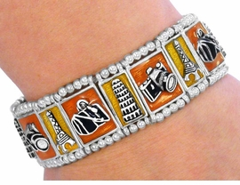 W2577B-NEW! TRAVEL STRETCH<BR>    BRACELET AS LOW AS $2.60