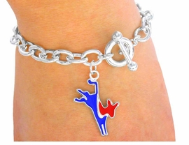 <BR>W3013B - DEMOCRAT CHAIN<BR>    TOGGLE BRACELET FROM<bR>                $1.69 TO $4.25