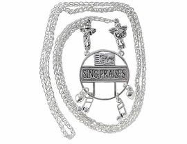 W3679EH-SING PRAISES ANTIQUE<BR>         SILVER FINISH EYEGLASS<BR>   HOLDER FROM $2.75 TO $7.50