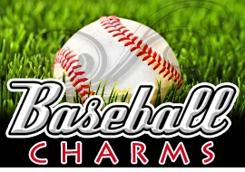 <BR>   WHOLESALE BASEBALL CHARMS <BR> CADMIUM, LEAD AND NICKEL FREE <BR>             SOLD INDIVIDUALLY