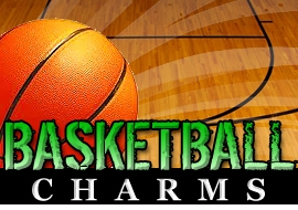 <BR>   WHOLESALE BASKETBALL CHARMS <BR> CADMIUM, LEAD AND NICKEL FREE <BR>             SOLD INDIVIDUALLY