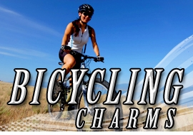 <BR>    WHOLESALE BICYCLING CHARMS <BR> CADMIUM, LEAD AND NICKEL FREE <BR>             SOLD INDIVIDUALLY