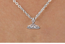 <br>  WHOLESALE CHILDRENS CHARM NECKLACE <bR>                  EXCLUSIVELY OURS!! <BR>             AN ALLAN ROBIN DESIGN!! <BR>    CLICK HERE TO SEE 1000+ EXCITING <BR>          CHANGES THAT YOU CAN MAKE! <BR>       CADMIUM, LEAD & NICKEL FREE!! <BR>      W1434SN - SILVER TONE PRINCESS <BR>       TIARA CHARM & CHILDS NECKLACE <BR>            FROM $4.50 TO $8.35 �2013