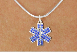 <BR>       WHOLESALE EMT CHARM NECKLACE! <bR>                   EXCLUSIVELY OURS!! <Br>              AN ALLAN ROBIN DESIGN!! <BR>     CLICK HERE TO SEE 1000+ EXCITING <BR>           CHANGES THAT YOU CAN MAKE! <BR>        LEAD, NICKEL & CADMIUM FREE!! <BR>      W1468SN - SILVER TONE AND CLEAR <BR> CRYSTAL EMT CROSS CHARM AND NECKLACE <BR>            FROM $5.55 TO $9.00 �2013