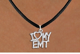 "<br>        WHOLESALE EMT COSTUME JEWELRY <bR>                   EXCLUSIVELY OURS!! <BR>              AN ALLAN ROBIN DESIGN!! <BR>     CLICK HERE TO SEE 1000+ EXCITING <BR>           CHANGES THAT YOU CAN MAKE! <BR>        CADMIUM, LEAD & NICKEL FREE!! <BR>     W1498SN - BEAUTIFUL SILVER TONE <BR>    ""I LOVE MY EMT"" CHARM & NECKLACE <BR>             FROM $4.50 TO $8.35 �2013"