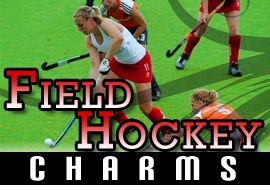 <BR>   WHOLESALE FIELD HOCKEY CHARMS <BR> CADMIUM, LEAD AND NICKEL FREE <BR>             SOLD INDIVIDUALLY