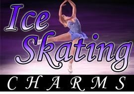 <BR>  WHOLESALE ICE SKATING CHARMS <BR> CADMIUM, LEAD AND NICKEL FREE <BR>             SOLD INDIVIDUALLY