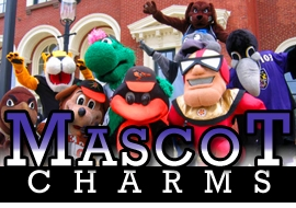 <BR>      WHOLESALE MASCOT CHARMS <BR> CADMIUM, LEAD AND NICKEL FREE <BR>             SOLD INDIVIDUALLY