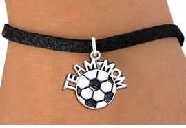 "<br>      WHOLESALE SOCCER CHARM BRACELET <bR>                     EXCLUSIVELY OURS!! <BR>                AN ALLAN ROBIN DESIGN!! <BR>       CLICK HERE TO SEE 1000+ EXCITING <BR>             CHANGES THAT YOU CAN MAKE! <BR>          CADMIUM, LEAD & NICKEL FREE!! <BR>        W1490SB - DETAILED SILVER TONE <Br> ""TEAM MOM"" SOCCER CHARM & BRACELET <BR>              FROM $4.15 TO $8.00 �2013"