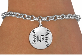 <br>   WHOLESALE SOFTBALL FASHION BRACELET <bR>                     EXCLUSIVELY OURS!!<BR>                AN ALLAN ROBIN DESIGN!!<BR>       CLICK HERE TO SEE 1000+ EXCITING<BR>             CHANGES THAT YOU CAN MAKE!<BR>      CUSTOMIZED WITH PLAYERS POSITION <BR>          CADMIUM, LEAD & NICKEL FREE!!<BR>      W1503SB - BEAUTIFUL SILVER TONE <Br>    CUSTOM SOFTBALL CHARM & BRACELET <BR>              FROM $4.50 TO $8.35 �2013