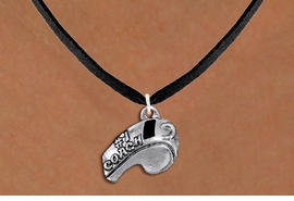"<br>         WHOLESALE SPORTS NECKLACE <bR>                  EXCLUSIVELY OURS!! <BR>             AN ALLAN ROBIN DESIGN!! <BR>    CLICK HERE TO SEE 1000+ EXCITING <BR>          CHANGES THAT YOU CAN MAKE! <BR>       CADMIUM, LEAD & NICKEL FREE!! <BR>        W1432SN - LARGE, SILVER TONE <BR> ""#1 COACH"" WHISTLE CHARM & NECKLACE <BR>            FROM $4.50 TO $8.35 �2013"